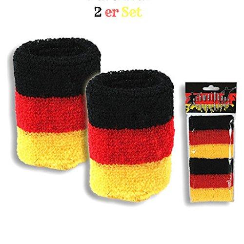 Fan Set Deutschland (Deutschland Schweißband)
