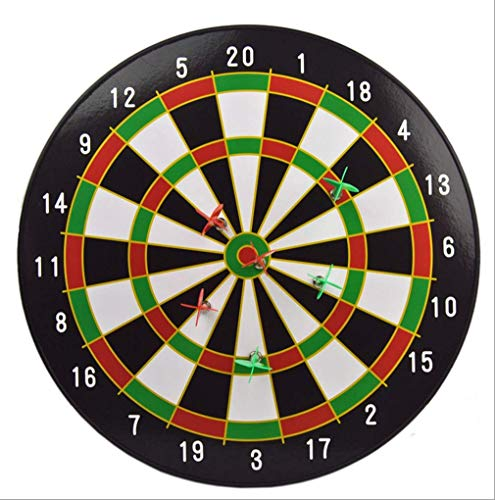 AWSW Magnetische Dartpfeile sind sicher und schaden Nicht den Menschen Children Playing Darts 35cm Child Kids Dart Board Game Fun Play Grids Magnetic Dart Board Dartboard Set