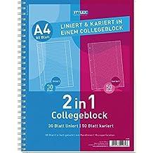 Collegeblock A4 Student kariert