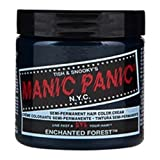 Manic Panic Semi Permanent Hair Dye Enchanted Forest Green by Tish & Snooky's Manic Panic NYC