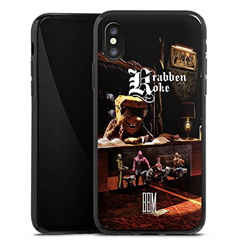Apple iPhone 6s Hülle Case Handyhülle Spongebozz Krabbenkoke Fanartikel Merchandise Silikon Case schwarz
