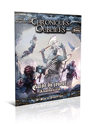 Asmodee - BBECOF05 - Chroniques Oubliées Fantasy - Guide du Joueur Anathazerïn