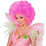 Perruque de femme frisée rose fluo perruque fée cheveux frisés elfe perruque soirée perruque punk frisée cheveux frisés perruque de carnaval multicolore accessoires déguisement contes de fées