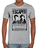 Funky NE Ltd Home Alone - Wanted Poster - Wet Bandits - Christmas - Stocking Filler - Tshirt - 100% Cotton - Small To XXL - 2 Colours - Great Gift Idea by Sport Grey - XL