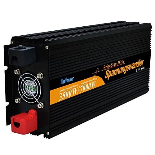 EDECOA Power Inverter Onda Sinusoidale Pura 3500w 7000w Trasformatore di Potenza Convertitore DC 24v in AC 220v AC 230v AC 240v Invertitore di Potenza