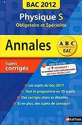 ANNALES BAC 2012 PHYSIQUE S OB
