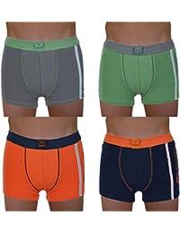 6er Pack Kinder Jungen Boxershorts Größe 110-164