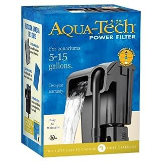AquaTech Power Aquarium Filter, 5 to 15-Gallon Aquariums