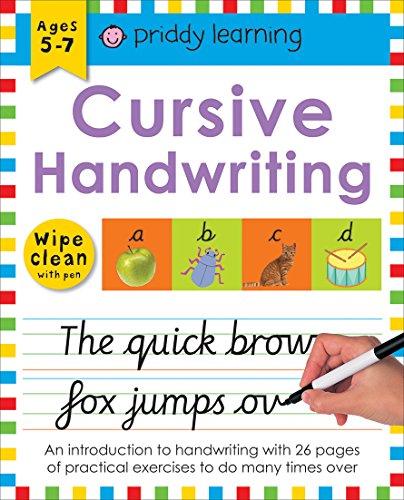 Cursive Handwriting (Wipe Clean Workbooks) por Roger Priddy
