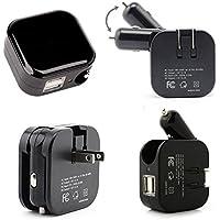 Kinden 2in 1auto doppio usb caricatore USB e 5V/2.1A Casa