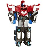 Transformers - Playset, Mega paso Optimus prime (Hasbro B1564)
