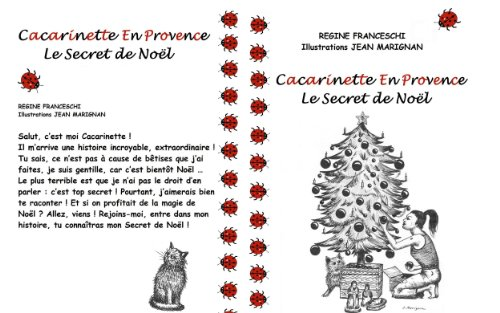 Couverture du livre Cacarinette En Provence - Le Secret de Noël
