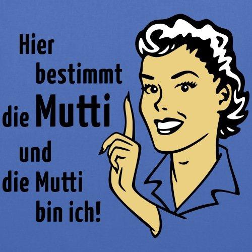 Spreadshirt Hier Bestimmt Die Mutti Witziger Spruch Stoffbeutel Hellblau