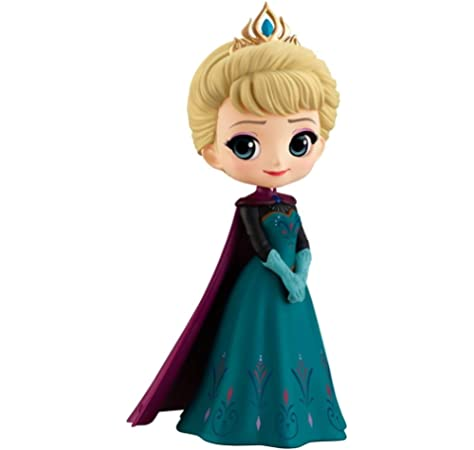 Disney Princess Coronation Style Anna Q Posket Licensed Disney Japan Figures