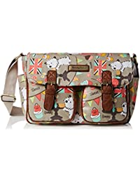 SWANKYSWANS Womens Biba Dog Cupcake Party Classy Satchel