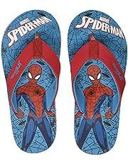 Spiderman Boy's Blue/Red Flip-Flops-13 Kids UK/India (32 EU) (STY-18-19-000759)