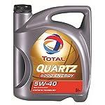 Total Motorenöl 5W-40 Quartz 9000 Energy, 5 Liter