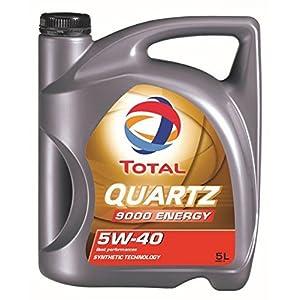 Total Quartz 9000 5W40 Huile Moteur, 5L pas cher