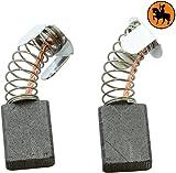 Kohlebürsten für MAKITA 2704 Säge -- 6,5x13,5x16mm -- 2.4x5.1x6.3'' -- Mit automatische Abschaltung