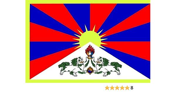 Michael Rene Pflüger Barmstedt 8 4 X 5 4 Cm Premium Aufkleber Fahne Flagge Von Tibet Sticker Auto Motorrad Autoaufkleber Auto