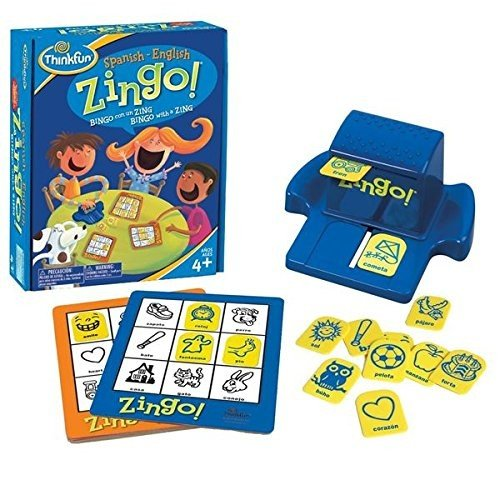 Think Fun Zingo Spiel Ravensburger Bilingual (76321)