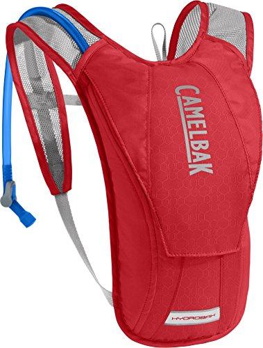 CamelBak 1122601900 - Mochila de hidratación, 1.5 l, color rojo y gris