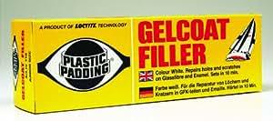 Gelcoat Filler - Plastic Padding 165gm Tube