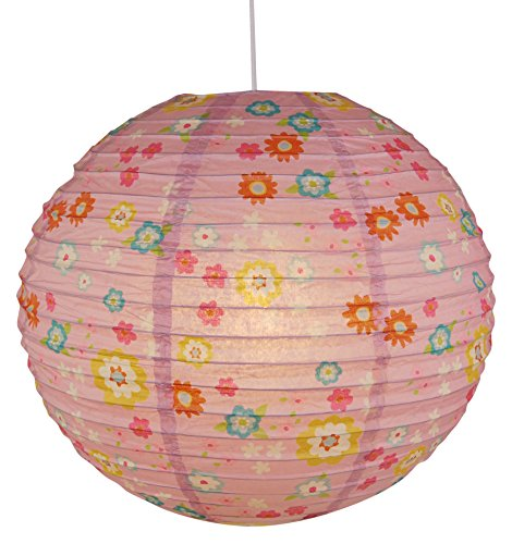 Niermann Standby 164 Paper Pendant Lamp Balloon Bungee Bunny, Papier, Multicolore, 40 x 40 x 40 cm