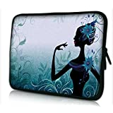 "Laptoptasche Notebooktasche 15"" - 15.6"" zoll Fall Neopren für Notebooks Dell HP Macbook Samsung Apple Toshiba*BLUE LADY.DE*"