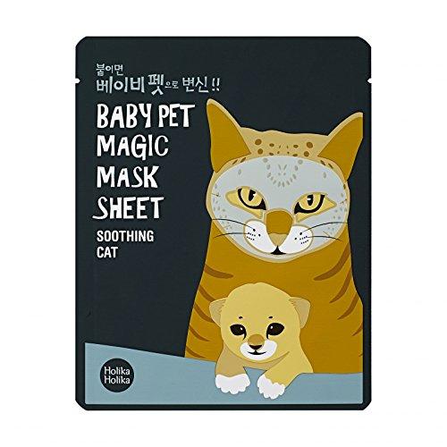 Holika Holika Baby Pet Magic Mask Sheet Cat gesichtsmaske Korean Kosmetik 1pc -