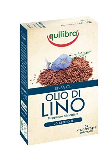 Equilibra - Olio di Lino, 32 Perle Vegicaps - [pacco da 2]