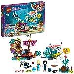LEGO Friends LaMissionediSoccorsodeiDelfini, Playset con Barca e Sottomarino,Relitto e Figure dei Delfini,Serie Salvataggi Marini, 41378 LEGO