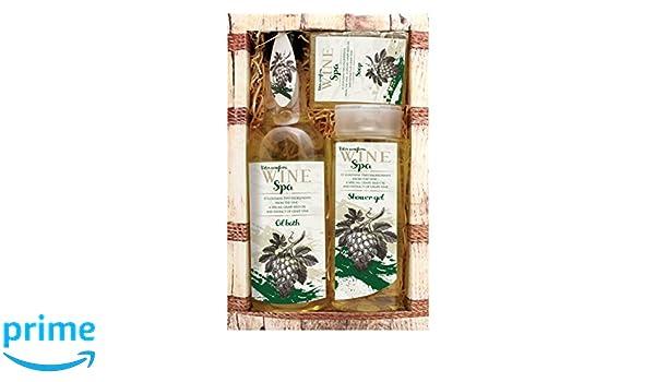 Vino bianco spa u2013 confezione regalo originale puro cosmetici