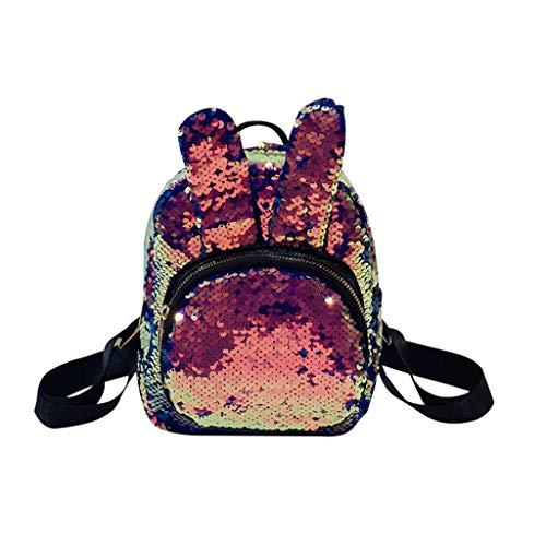 TUDUZ Damentasche im japanischen Stil Rucksack Student Rucksack dreiteilige Tasche Herrentaschen(Blau)