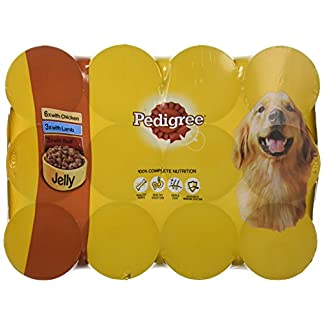 PEDIGREE Dog Food Can Jelly Selection 12 x 385 g (Pack of 2) 24