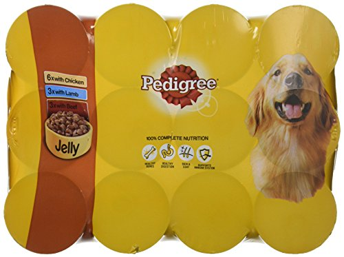 PEDIGREE Dog Food Can Jelly Selection 12 x 385 g (Pack of 2) 1