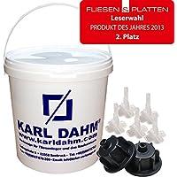 Zange zum KARL DAHM Keile Nivelliersystem 11509 Metall Zugzange f/ür Fliesen Nivellierhilfe
