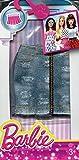 #6: Barbie Fashion Denim Zip Front Skirt, Multi Color