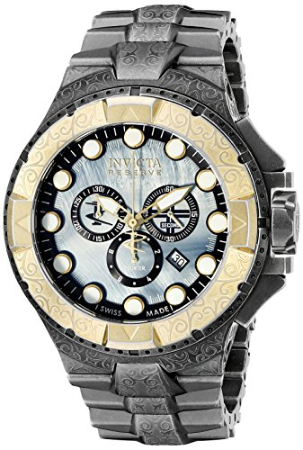 Invicta Men's Excursion Steel Bracelet & Case Swiss Quartz Analog Watch...