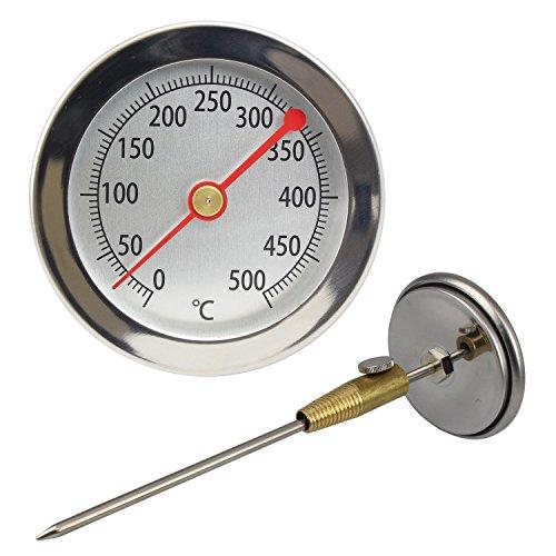 Lantelme LA_62-500 + KONUS - Termómetros de Horno, analógica y bimetálico 50...
