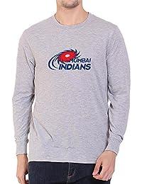 Mumbai Indians IPL Full Sleeve Round Neck Premium Cotton T-Shirt