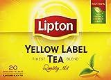 Lipton Yellow Label Te  - 20 Bolsitas