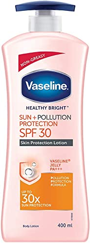 Vaseline Sun + Pollution Protection SPF 30 Body Lotion, 400 ml