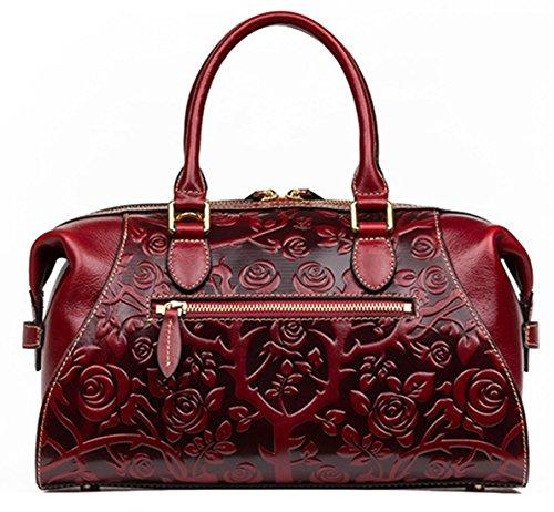 Keshi Leder Cool Damen Handtaschen, Hobo-Bags, Schultertaschen, Beutel, Beuteltaschen, Trend-Bags, Velours, Veloursleder, Wildleder, Tasche Gelb