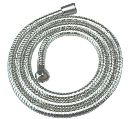 DELUXE BATHROOM FLEXIBLE SHOWER HOSE 1 75M (DOUBLE SHILEDING TO PREVENT KINKING) BY APOLLO
