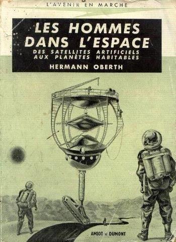 Les hommes dans l'espace. des satellites artificiels aux planètes habitables.