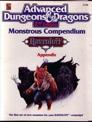 Monstrous Compendium: Ravenloft : Appendix (Advanced Dungeons & Dragons) by William Connors (1991-05-02) par William Connors