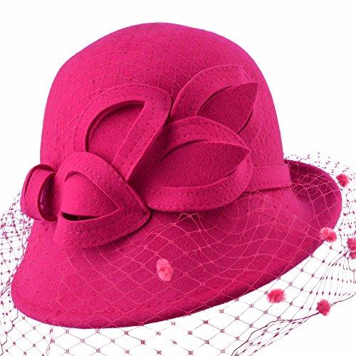 Eden hats - Chapeau - Femme Fuchsia