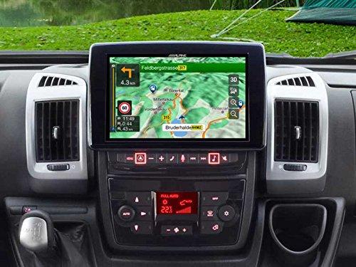 Alpine X902D-DU Touchscreen Navigator, festinstalliert, 9 Zoll LCD Scwarz -Navi (Ost- und Westeuropa) 22.9cm (9 Zoll), 800x 480Pixel, LCD, AVI, H.264, MKV, MP4 -