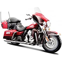 2013 Harley Davidson FLHTK Electra Glide Ultra [Maisto 32323], Rojo, 1:12 Die Cast